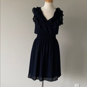 Rebecca Taylor Navy Blue Dress